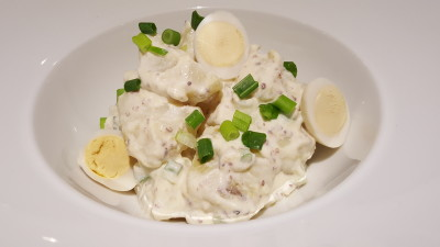 The Buffet Egg-Xperience by Street 50 Restaurant and Bar - Potato Salad with Pommery Mayonnaise