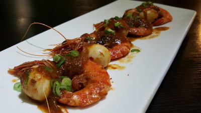 The Buffet Egg-Xperience by Street 50 Restaurant and Bar - Sambal Prawns with Quail Eggs