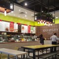 Toss & Turn Salad Bar By Cedele - Overview of counter