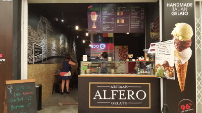 Alfero Artisan Gelato - Overview of Outlet