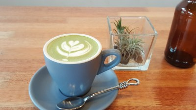 Rise And Grind Co On HollerOut App - Matcha Latte ($6)