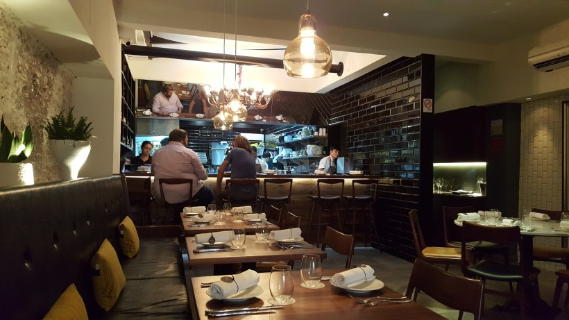 Cheek By Jowl At Boon Tat Street - Interior from the front