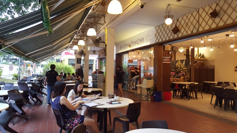 Spicy Thai Thai Restaurant At Aljunied Ave 2 - Outdoor seats