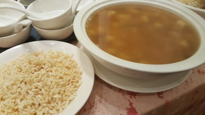 Asia Grand Restaurant at Odeon Tower Singapore - Crispy Rice In Seafood Soup, 金银海鲜泡饭