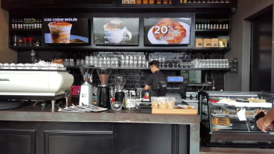 Liberica Coffee At South Quarter - Counter view