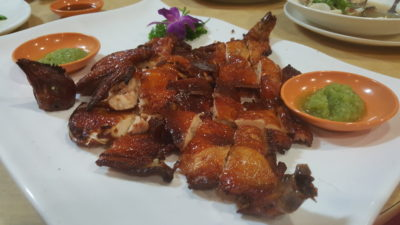 Hua Yu Wee Seafood Restaurant At Upper East Coast Road, Singapore - Feng Sha Chicken ($29.96++)