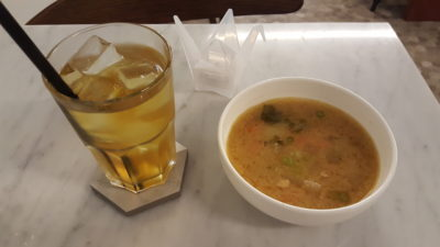 Sprout Salad Bar At Duxton Road, Tanjong Pagar, Singapore - Complete A Meal with soup and drink