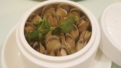 Putien Clams Festival 2016 -Steamed PUTIEN Clam with Wine 酒蒸蛏($20.90-S / $31.90-L)