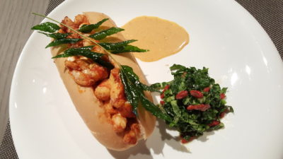 Angela May Food Chapter At The Hereen, Orchard, Singapore - Josper Grilled Lobster Roll ($42)