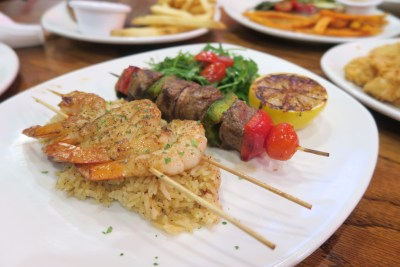 Outback Steakhouse Singapore Tasting Menu - Steak and Shrimp Skewers ($39.90)