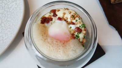Odette By Chef Julien At National Gallery Museum, City Hall, Singapore - Act 2, Rosemary Smoked Organic Egg