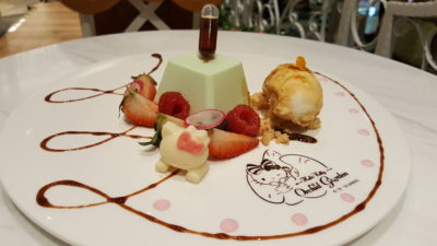 Hello Kitty Orchid Garden Cafe at Changi Airport Terminal 3, Singapore - The Hide and Seek ($16.90)