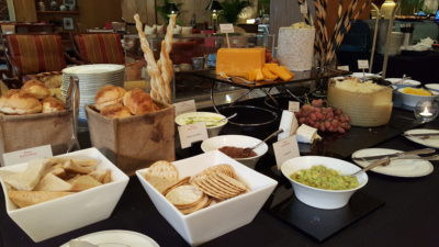 Weekend Afternoon Tea At Tea Lounge Of Regent Singapore - Cheese Table