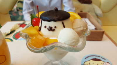Pompompurin Cafe At Orchard Central, Singapore - Pompompurin's Mango Parfait ($18.99)