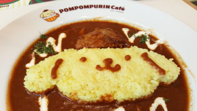 Pompompurin Cafe At Orchard Central, Singapore - Pompompurin's Beef Stroganoff ($18.99)