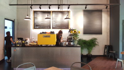 Fuel Coffee By Coffee Bandits - Counter View