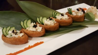 Spice Brasserie's Union of Crabs and Lobsters Dinner Buffet At Parkroyal On Kitchener - Lobster Inari