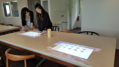DW Workshop At Rochester Drive, Buona Vista, Singapore - Projection onto the table