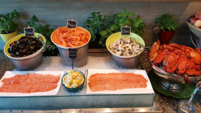 Hawker Fare Buffet At Makan @ Jen, Hotel Jen Orchardgateway, Somerset, Singapore - Seafood