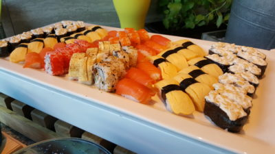 Hawker Fare Buffet At Makan @ Jen, Hotel Jen Orchardgateway, Somerset, Singapore - Sushi