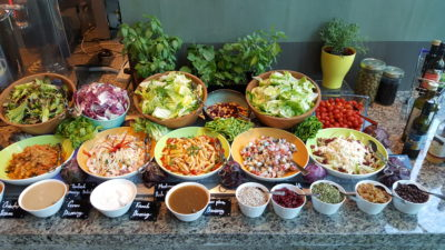 Hawker Fare Buffet At Makan @ Jen, Hotel Jen Orchardgateway, Somerset, Singapore - Salad
