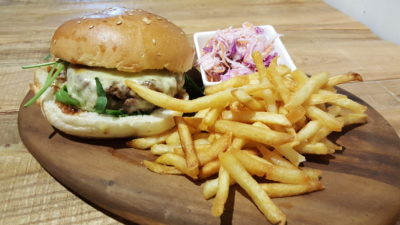 Fuel Coffee By Coffee Bandits At Henderson, Singapore - Bandits Burger ($16.90)