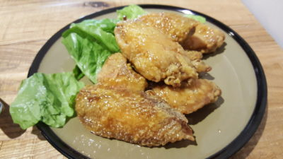 Fuel Coffee By Coffee Bandits At Henderson, Singapore - Honey Butter Wings ($7.90)