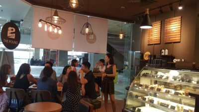 The Pound Cafe With Korean Vibes At Jalan Sultan in Bugis, Singapore - Interior of The Pound Cafe