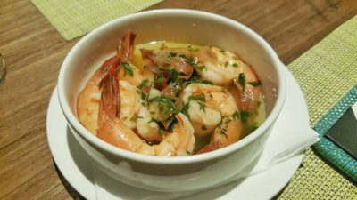 UNA At One Rochester New Menu, Singapore - Gambas Al Ajillo ($22)