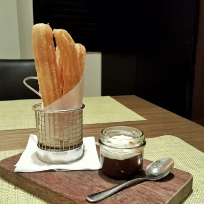 UNA At One Rochester New Menu, Singapore - Churros Con Chocolate Cafe ($14)