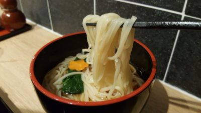 Inaniwa Yosuke Handmade Udon At Japan Food Town, Orchard, Singapore - Hot Udon