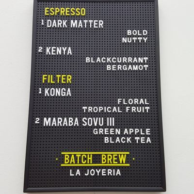 Alchemist Takeaway Coffee At International Plaza, Tanjong Pagar, Singapore - Coffee Beans availability