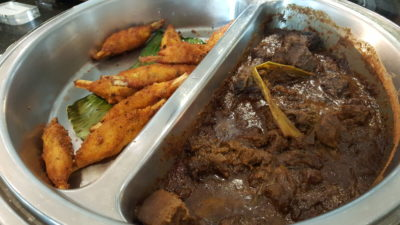 Street 50 Singapore Food Story at Bay Hotel Singapore - Beef Rendang