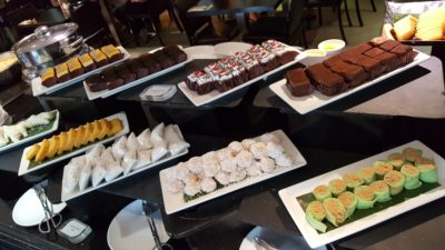 Street 50 Singapore Food Story Weekend Lunch Buffet at Bay Hotel Singapore - Nonya Kueh and Western Cakes