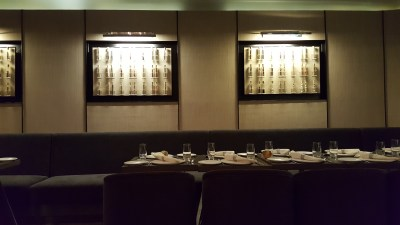 Punjab Grill @ The Shoppes At Marina Bay Sands - Dinning area by the side