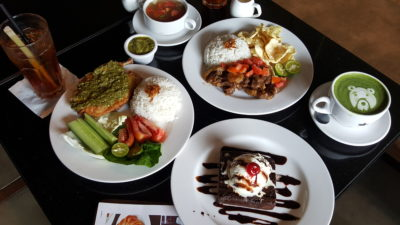 Liberica Coffee At South Quarter, Jakarta, Indonesia - Lunch