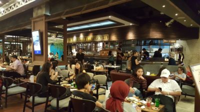 Warung Koffie Batavia At Grand Indonesia, Jakarta, Indonesia - The dinning area