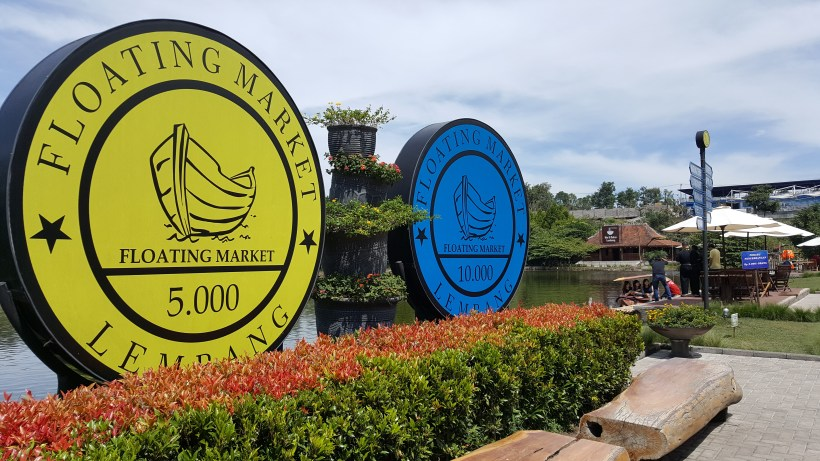 Floating Market Lembang Bandung, Indonesia - At the Entrance