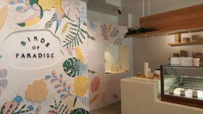Birds Of Paradise Gelato Boutique at Katong, Singapore - A view from the entrance