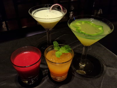 Hard Rock Cafe Singapore Vegetarian Menu At Resort World Sentosa, Singapore - Drinks Menu