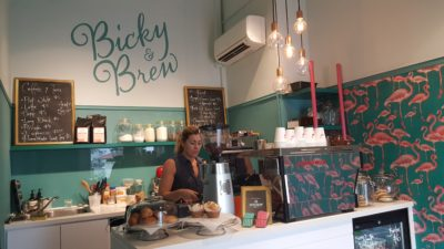 Bicky & Brew At Club Street In Telok Ayer, Singapore - Interior