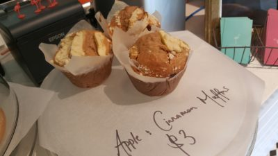 Bicky & Brew At Club Street In Telok Ayer, Singapore - Homemade Apple & Cinamon Muffin ($3)