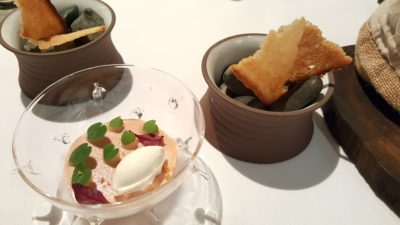 Alma by Juan Amador At Goodwood Park Hotel, Orchard, Singapore, 1 Michelin Star Restaurant - First Course, The Foie Gras
