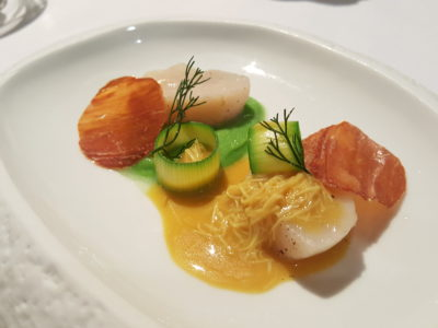 Alma by Juan Amador At Goodwood Park Hotel, Orchard, Singapore, 1 Michelin Star Restaurant - Hokkaido Scallop