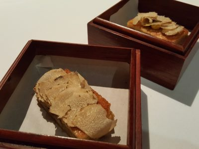 "Alma by Juan Amador At Goodwood Park Hotel, Orchard, Singapore, 1 Michelin Star Restaurant - ""Ham & Cheese Sandwich"""