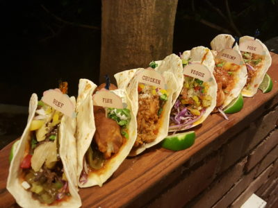 Coyote Tex-Mex Bar & Grill At Phoenix Park, Tanglin, Singapore - Tacos, Veggie ($15), Chicken ($17), Fish or Shrimp ($18), Pork or Beef ($19)