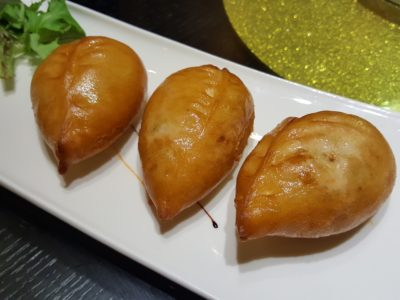 Lan Ting Cuisine & Wine At East Coast Road In Siglap, Singapore - Chilli Crab Puff ($6.80 for 3)