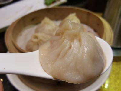 """Lan Ting Cuisine & Wine At East Coast Road In Siglap, Singapore - Steamed """"Siew Long Pau"""" ($4.80 for 3)"""