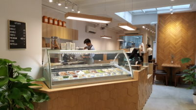 Apiary Ice Cream Cafe At Neil Road In Outram, Singapore - Counter