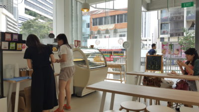 The Cold Pantry At New Location, 88 Rangoon Road In Farrer Park, Singapore - Interior View from the back